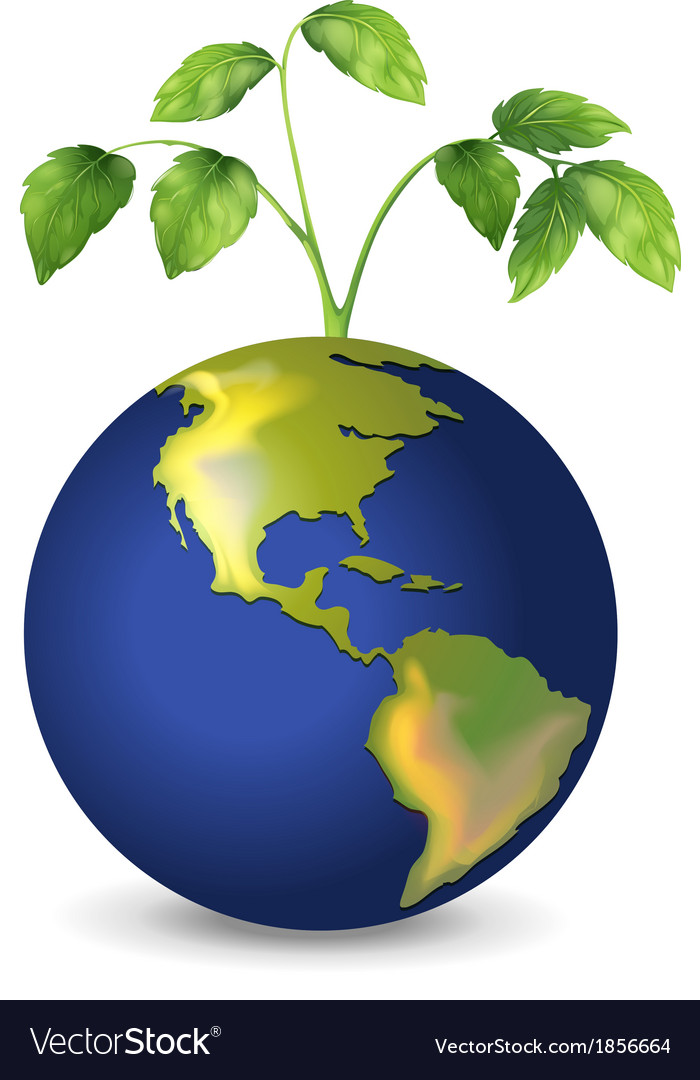 Mother earth vector | Price: 1 Credit (USD $1)