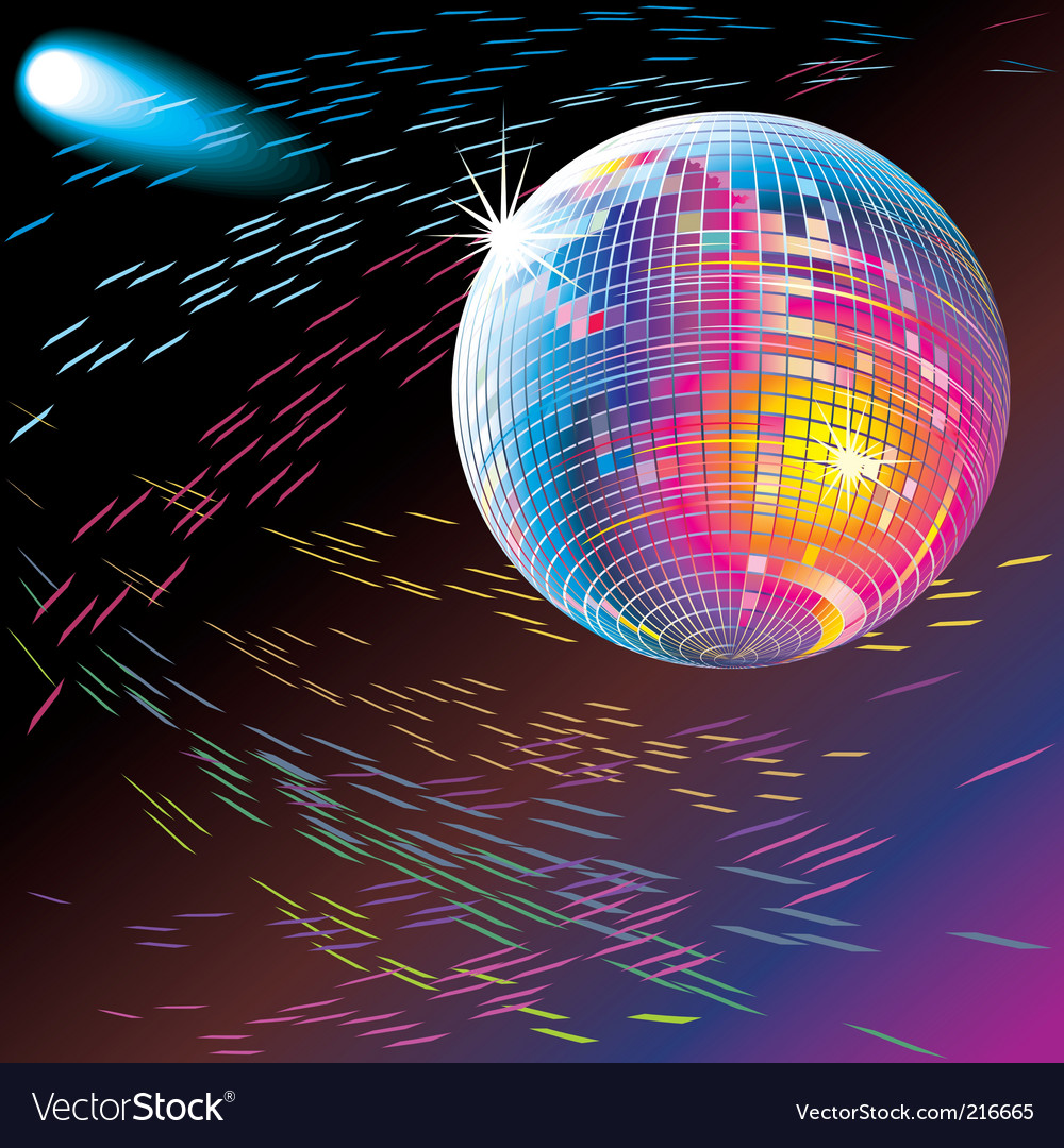 Disco vector | Price: 1 Credit (USD $1)