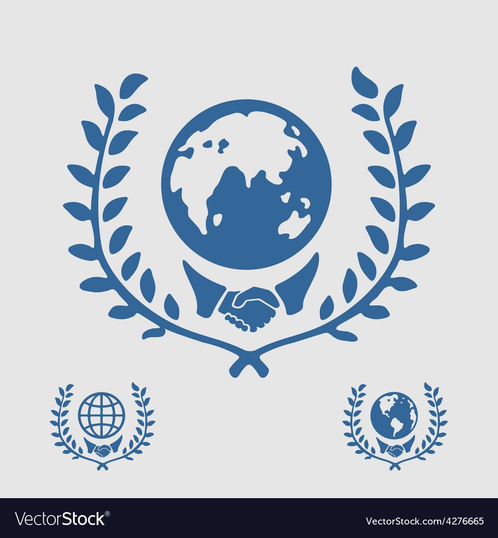 International symbol handshake vector | Price: 1 Credit (USD $1)