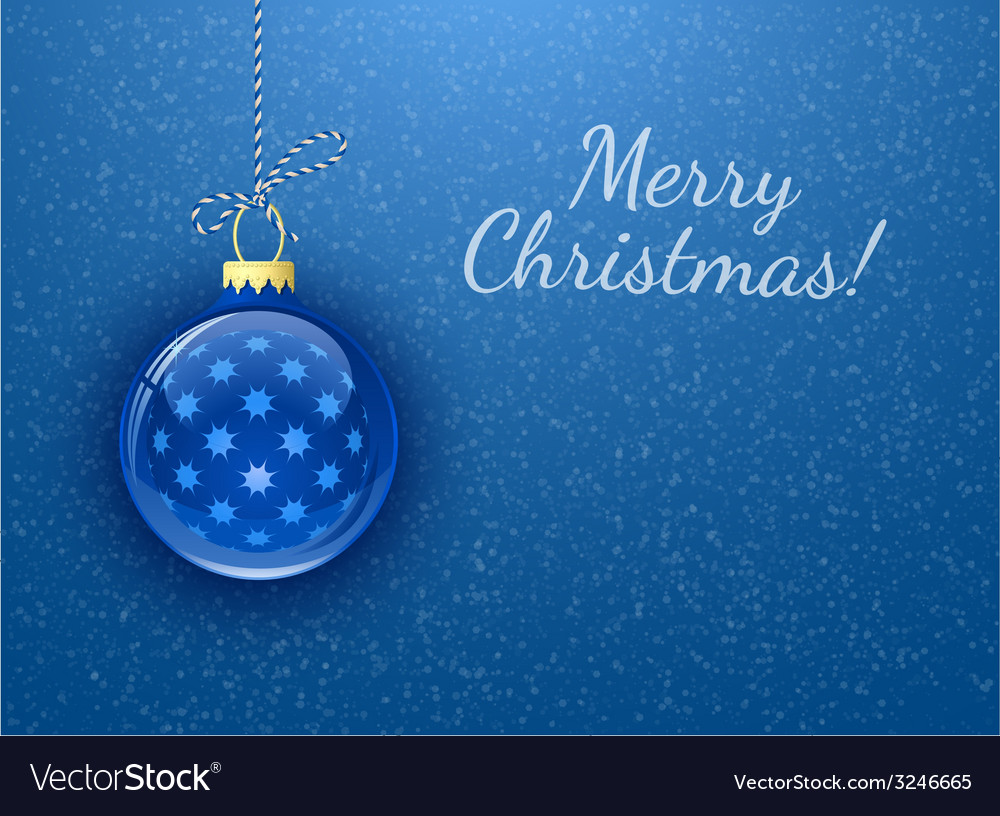 Merry christmas christmas card vector | Price: 1 Credit (USD $1)
