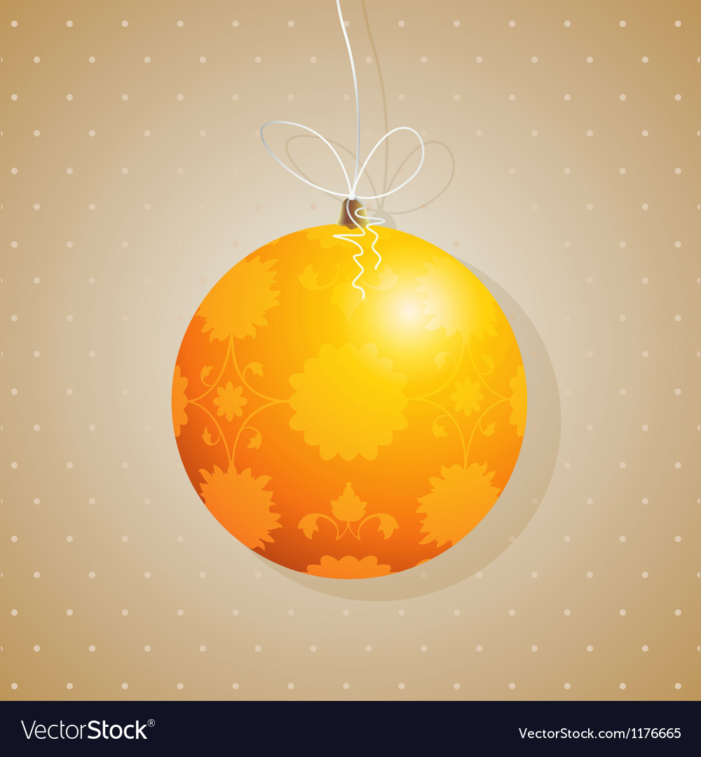 Tree decoration card vector | Price: 1 Credit (USD $1)