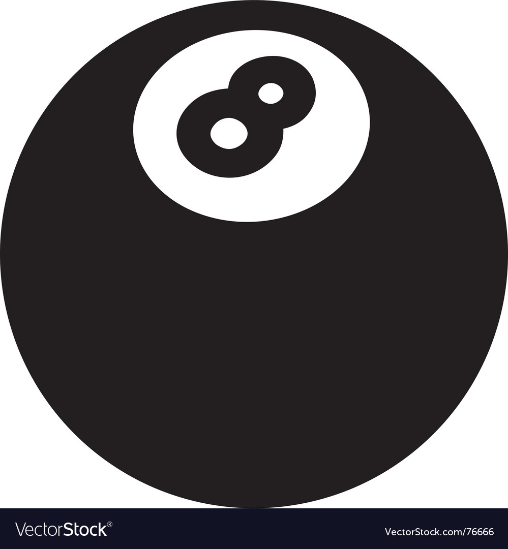 8ball vector | Price: 1 Credit (USD $1)