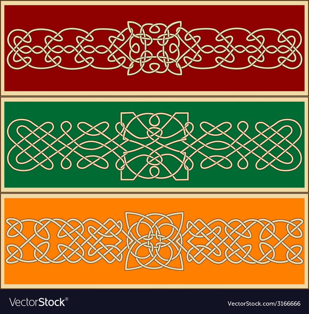 Celtic ornaments and patterns vector | Price: 1 Credit (USD $1)