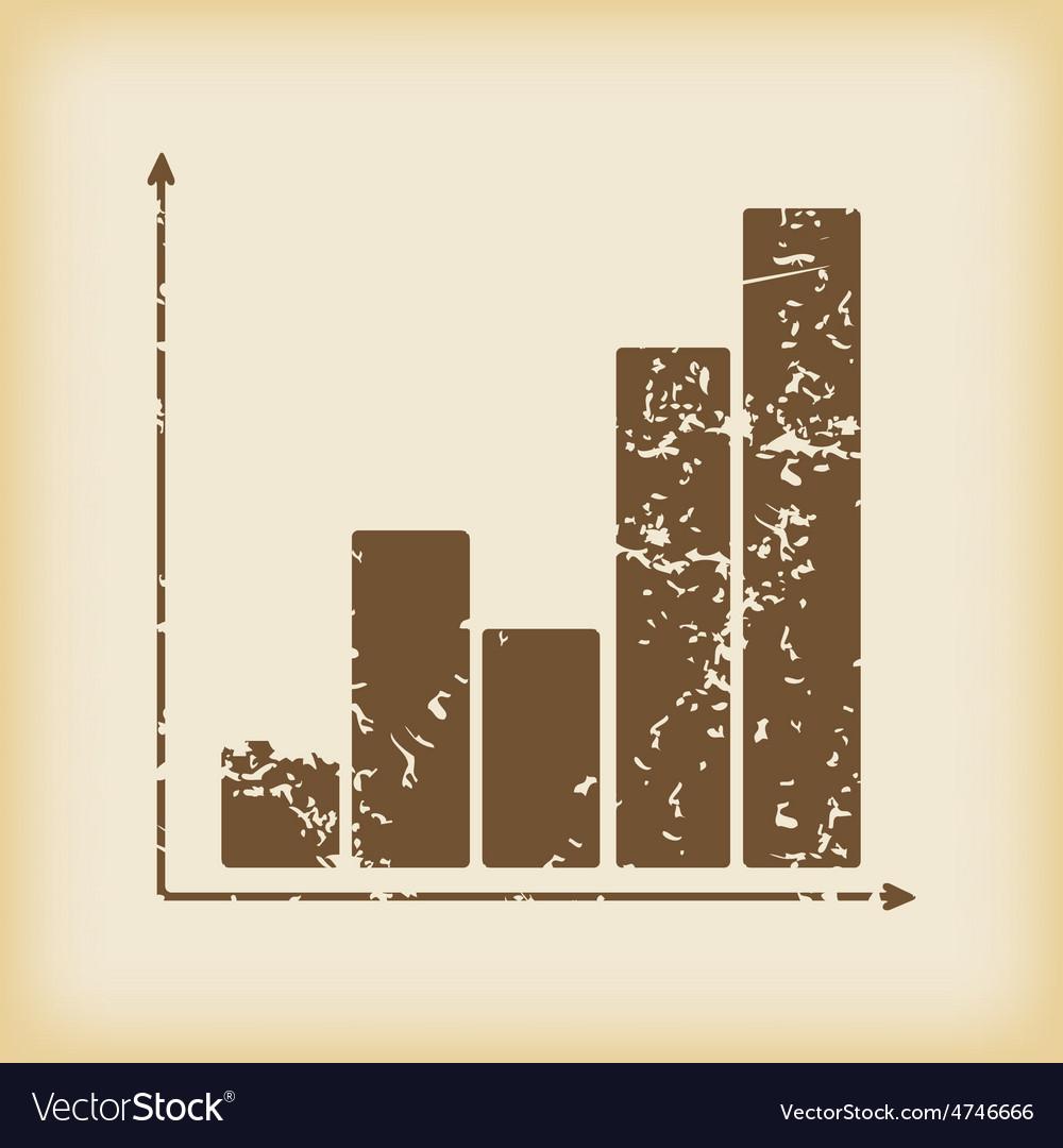 Grungy graphic icon vector | Price: 1 Credit (USD $1)