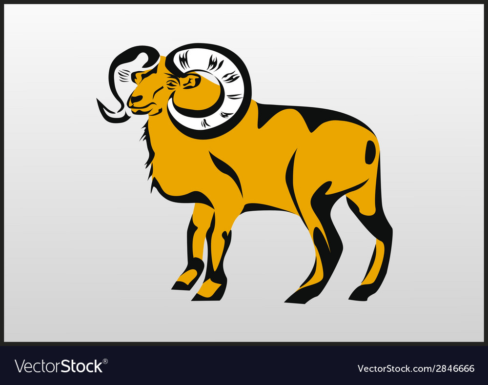 Tattoo aries vector | Price: 1 Credit (USD $1)