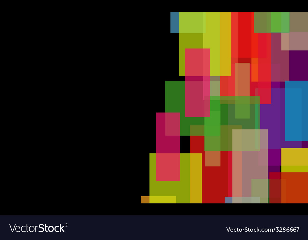 Abstract background from geometrical figures vector | Price: 1 Credit (USD $1)