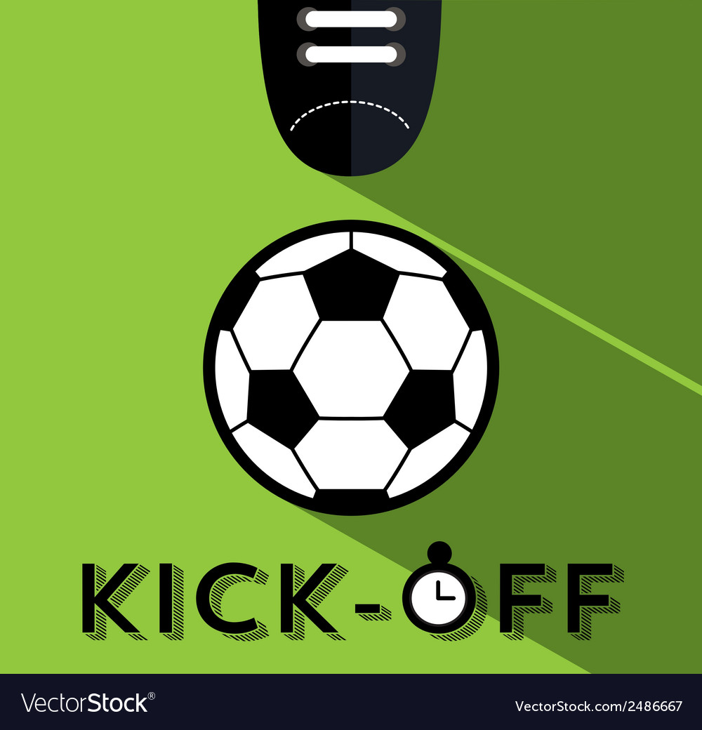 Kick-off vector | Price: 1 Credit (USD $1)