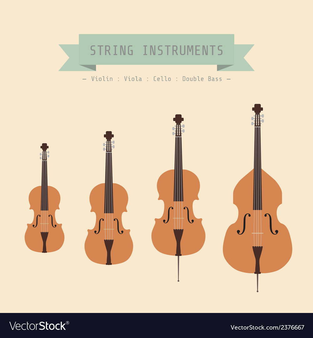 Violinfamily vector | Price: 1 Credit (USD $1)