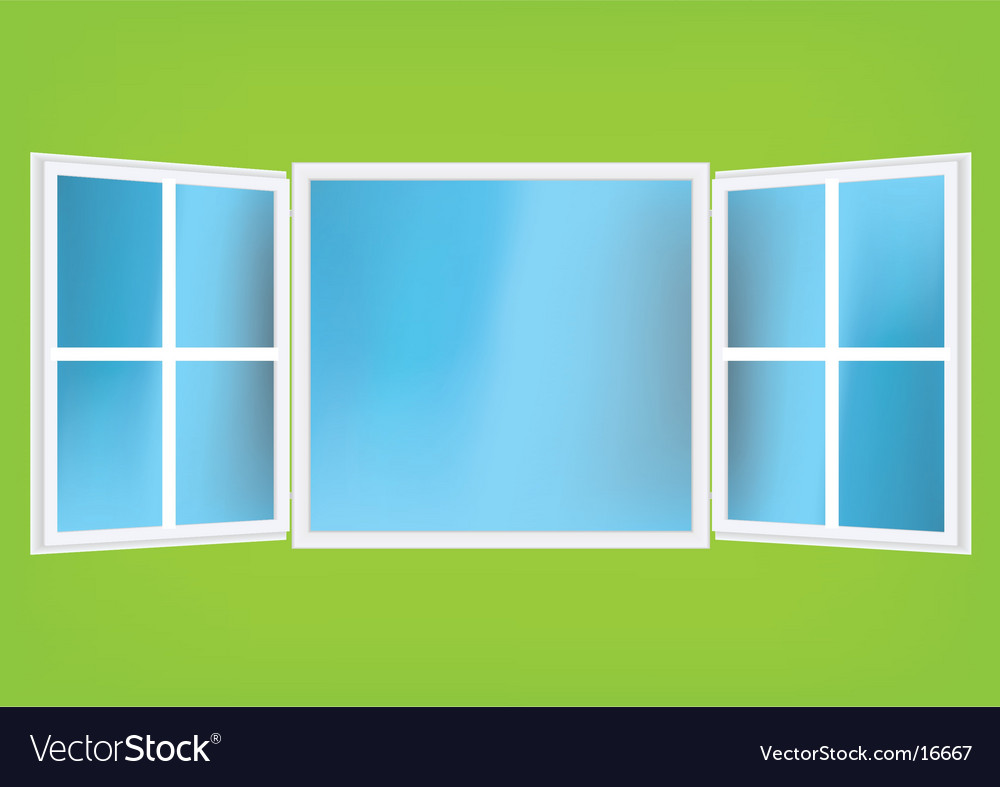 Window design vector | Price: 1 Credit (USD $1)