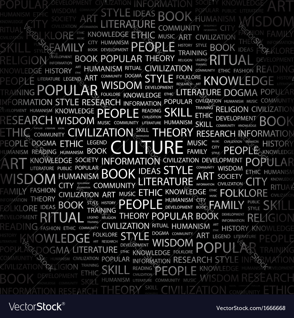 Culture vector | Price: 1 Credit (USD $1)