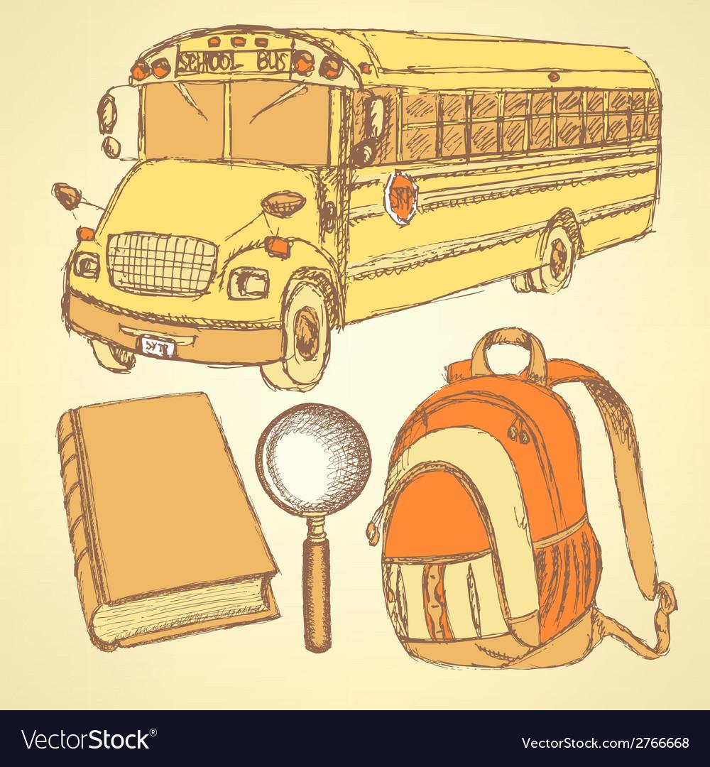 Education sketch vector | Price: 1 Credit (USD $1)