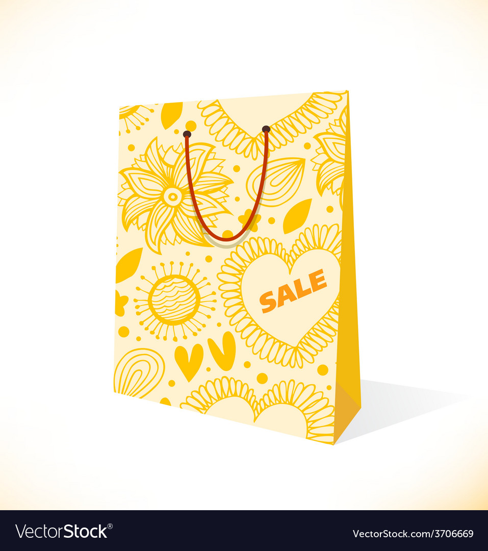 Shopping bag icon vector | Price: 1 Credit (USD $1)
