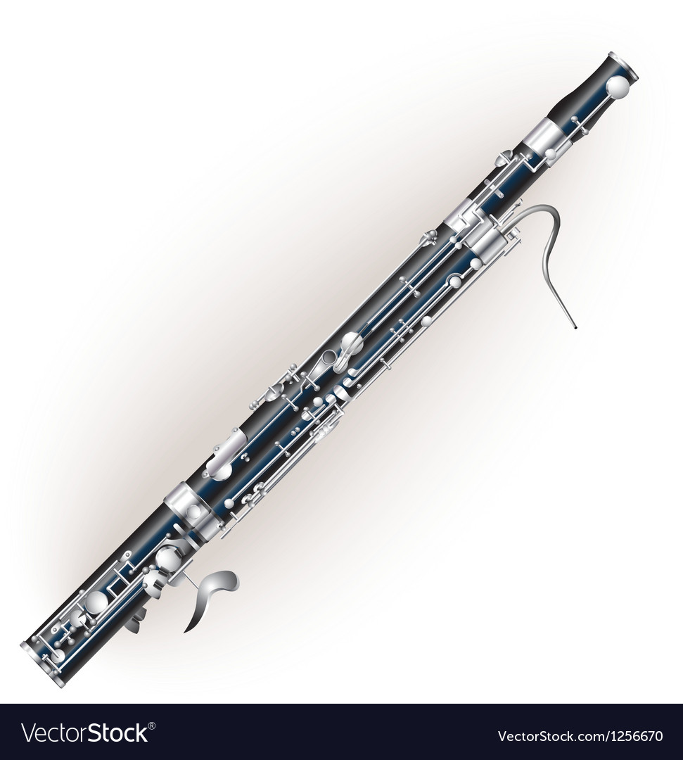 Classical bassoon vector | Price: 1 Credit (USD $1)