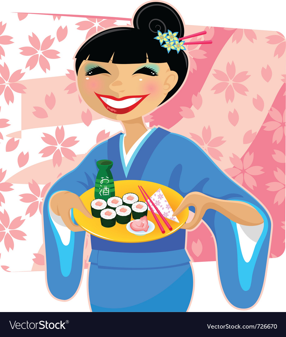 Japanese meal vector | Price: 3 Credit (USD $3)