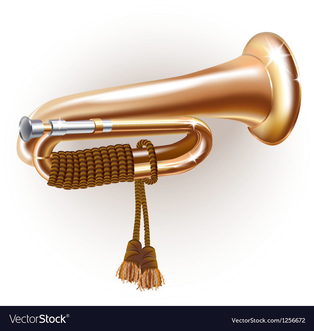 Classical bugle vector | Price: 1 Credit (USD $1)