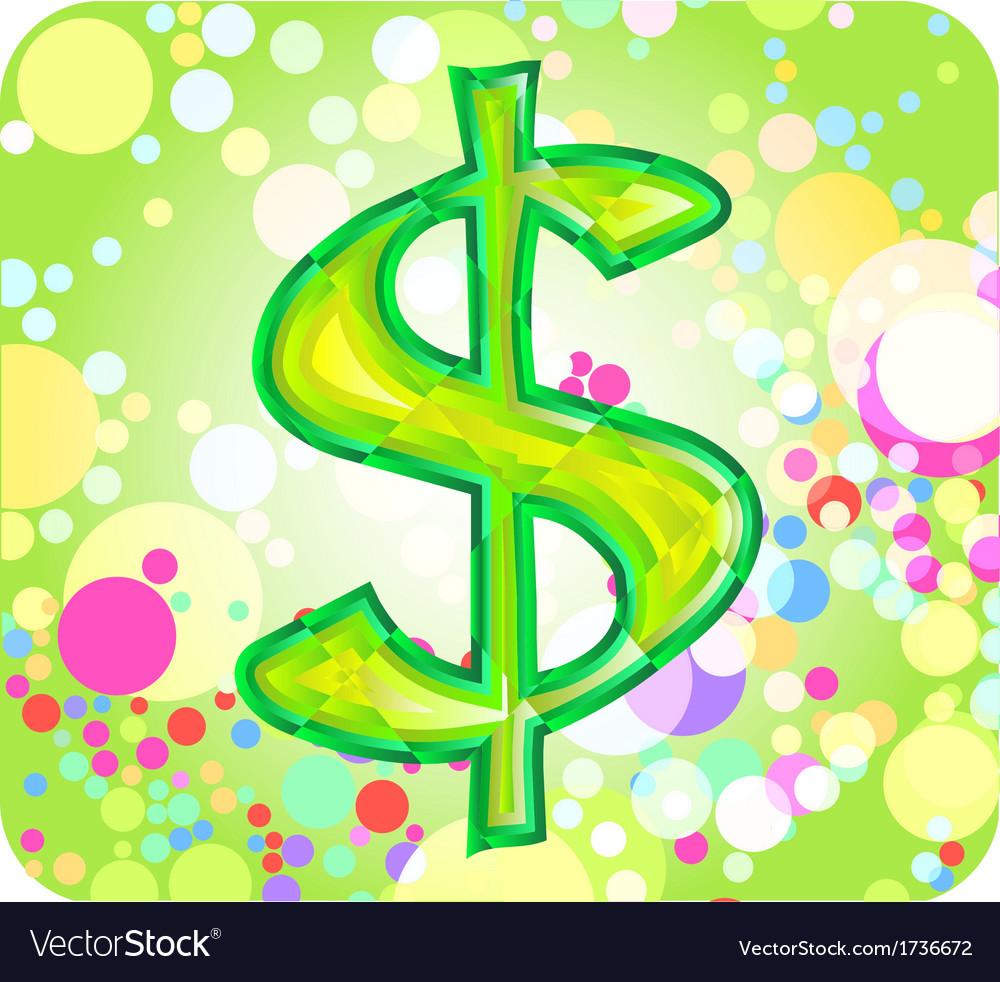 Dollar sign vector   Price: 1 Credit (USD $1)