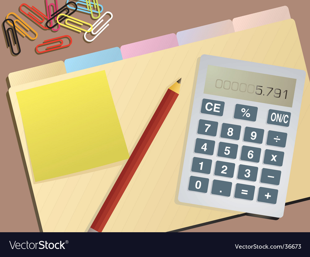 Accounting background vector | Price: 1 Credit (USD $1)