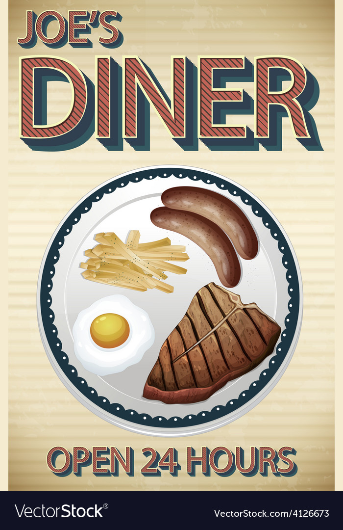 Dinner vector | Price: 3 Credit (USD $3)