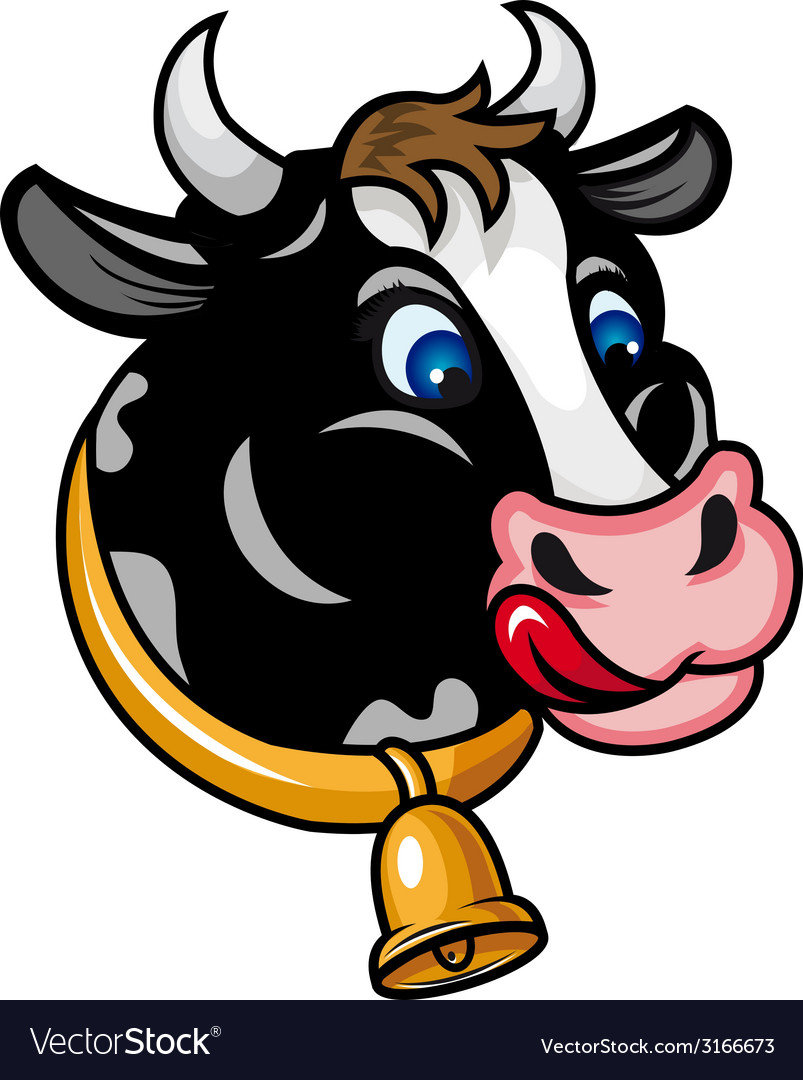 Funny cow vector | Price: 1 Credit (USD $1)
