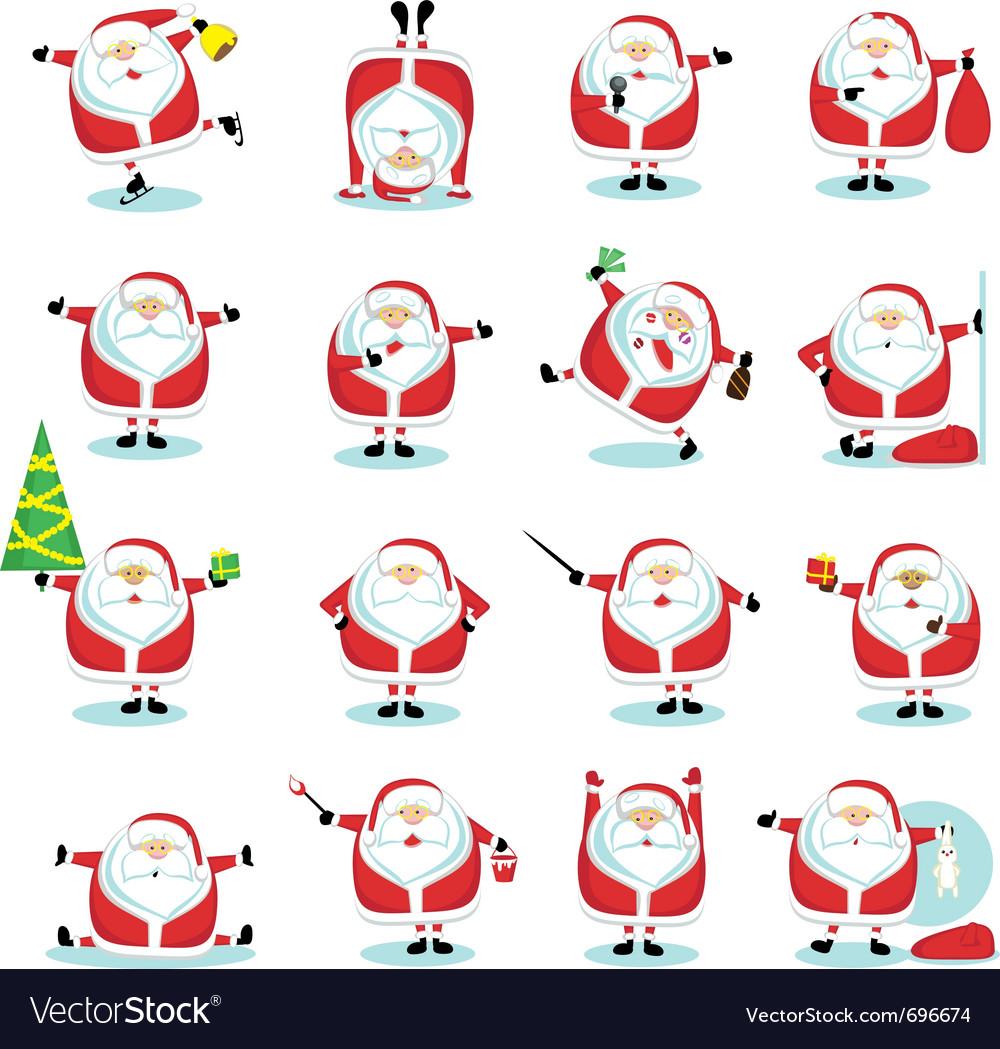 Cartoon santa claus vector   Price: 1 Credit (USD $1)