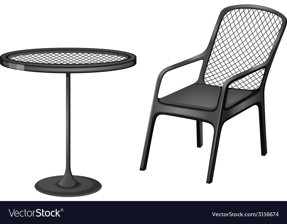 Grey furnitures vector | Price: 1 Credit (USD $1)