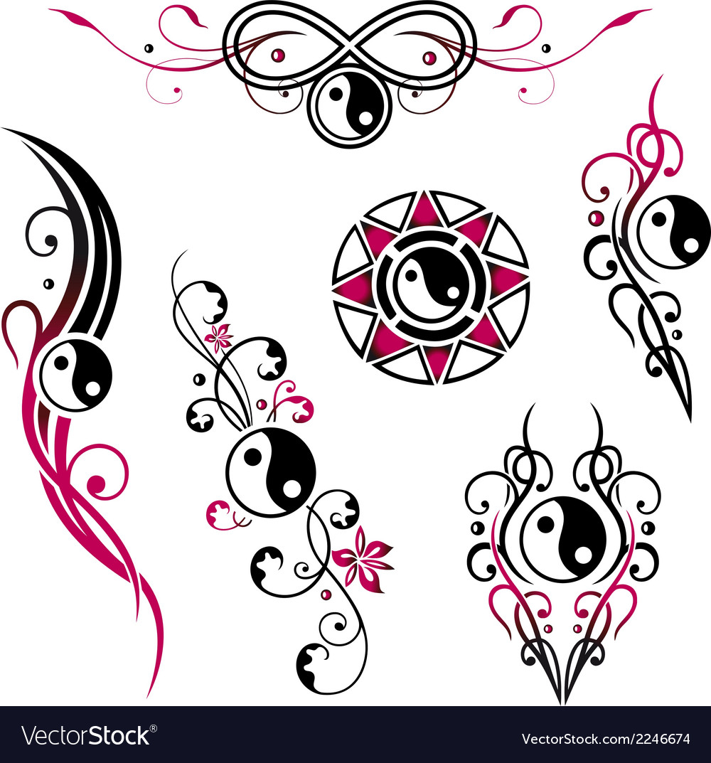 Yin yang jewelry vector | Price: 1 Credit (USD $1)