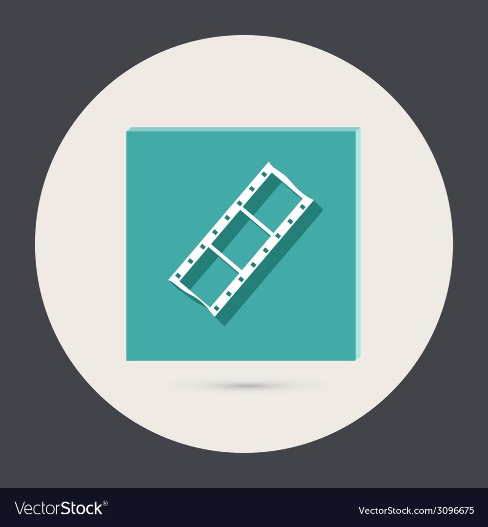 Film sign vector | Price: 1 Credit (USD $1)