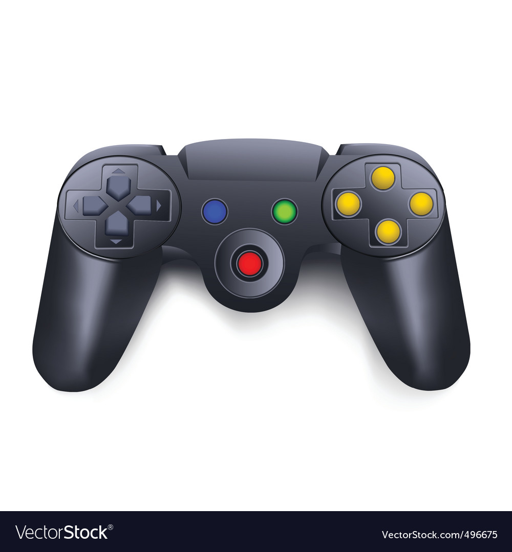Joystick vector | Price: 1 Credit (USD $1)