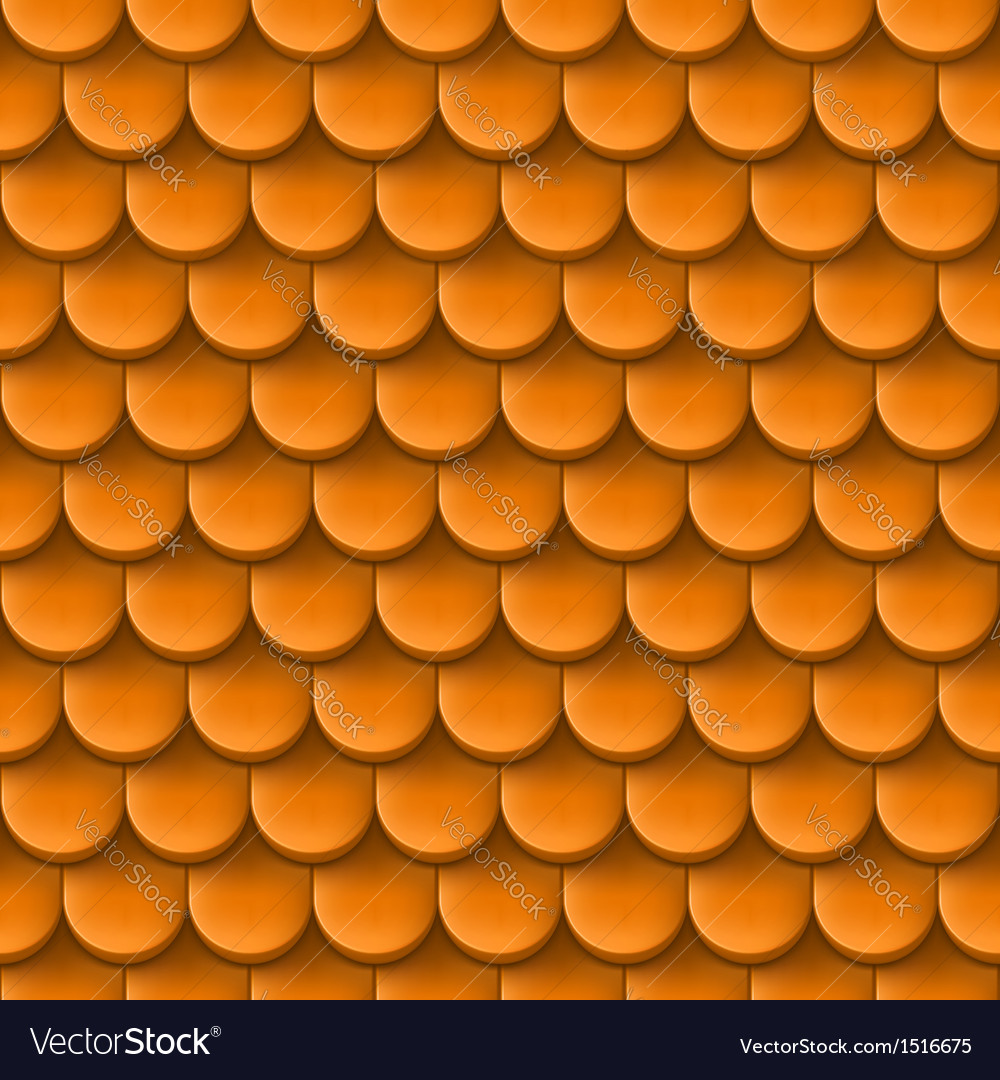 Roof tile background vector | Price: 1 Credit (USD $1)