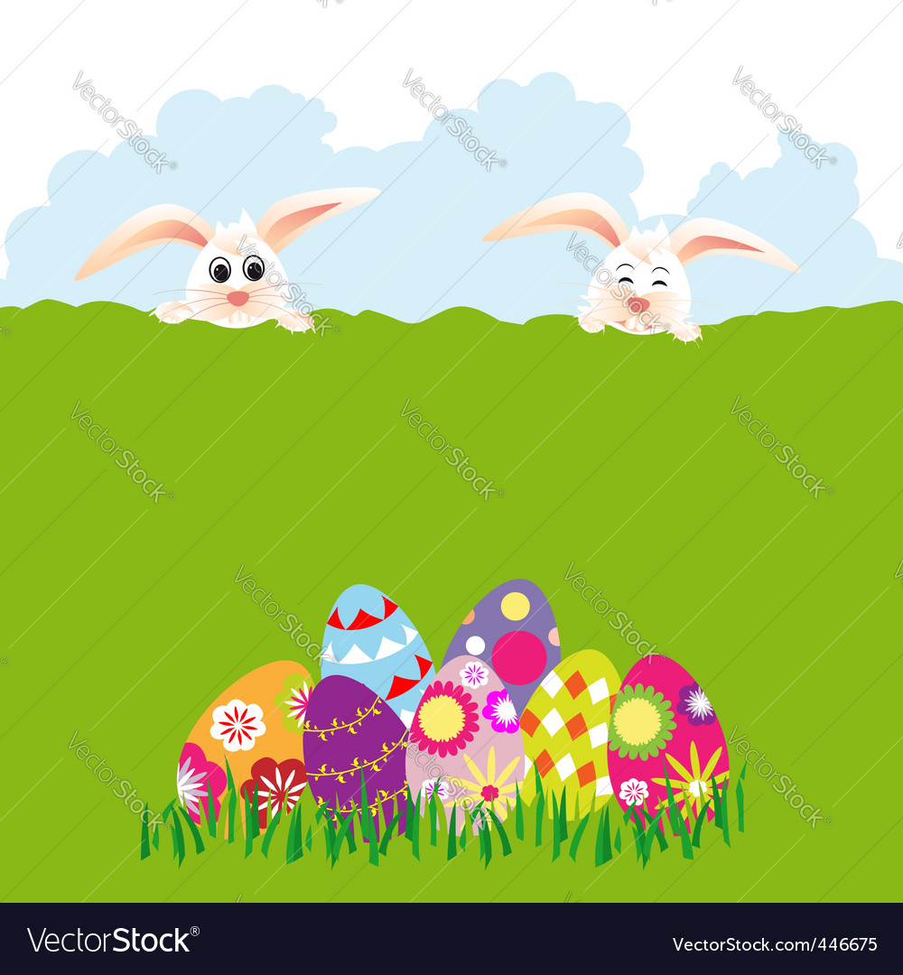 Springtime easter holiday vector | Price: 1 Credit (USD $1)