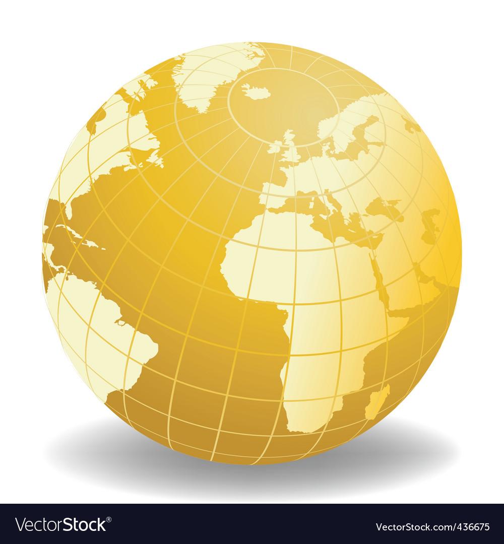 World map04 vector | Price: 1 Credit (USD $1)