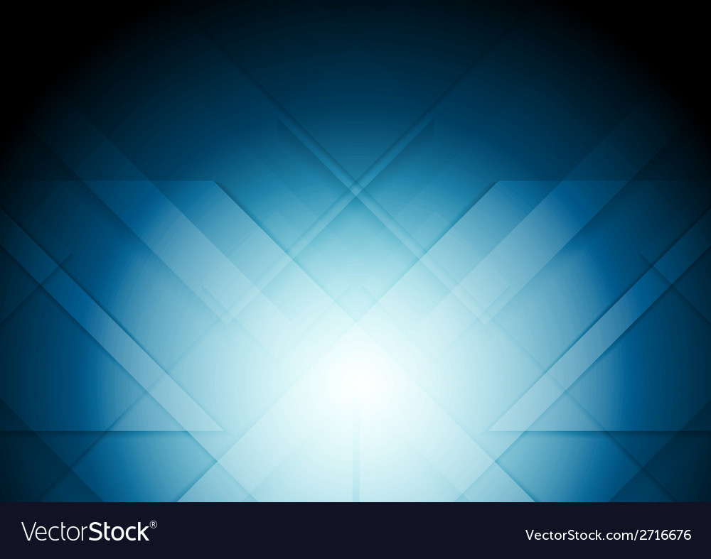 Abstract tech blue background vector | Price: 1 Credit (USD $1)