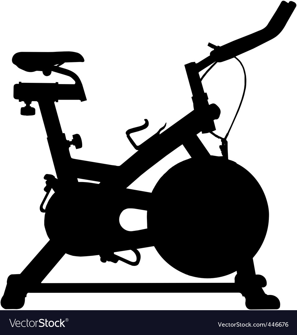 Exercise bike vector | Price: 1 Credit (USD $1)