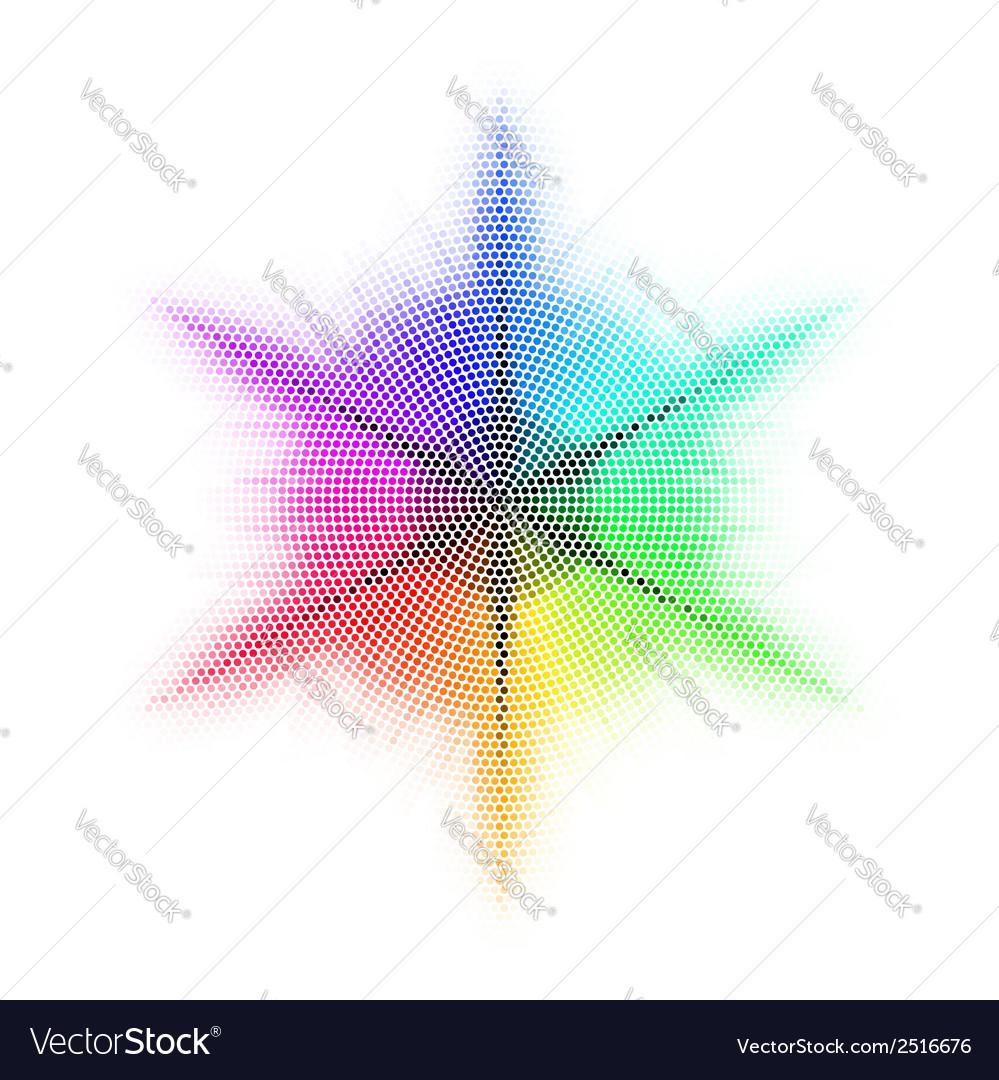 Mosaic rainbow vector | Price: 1 Credit (USD $1)