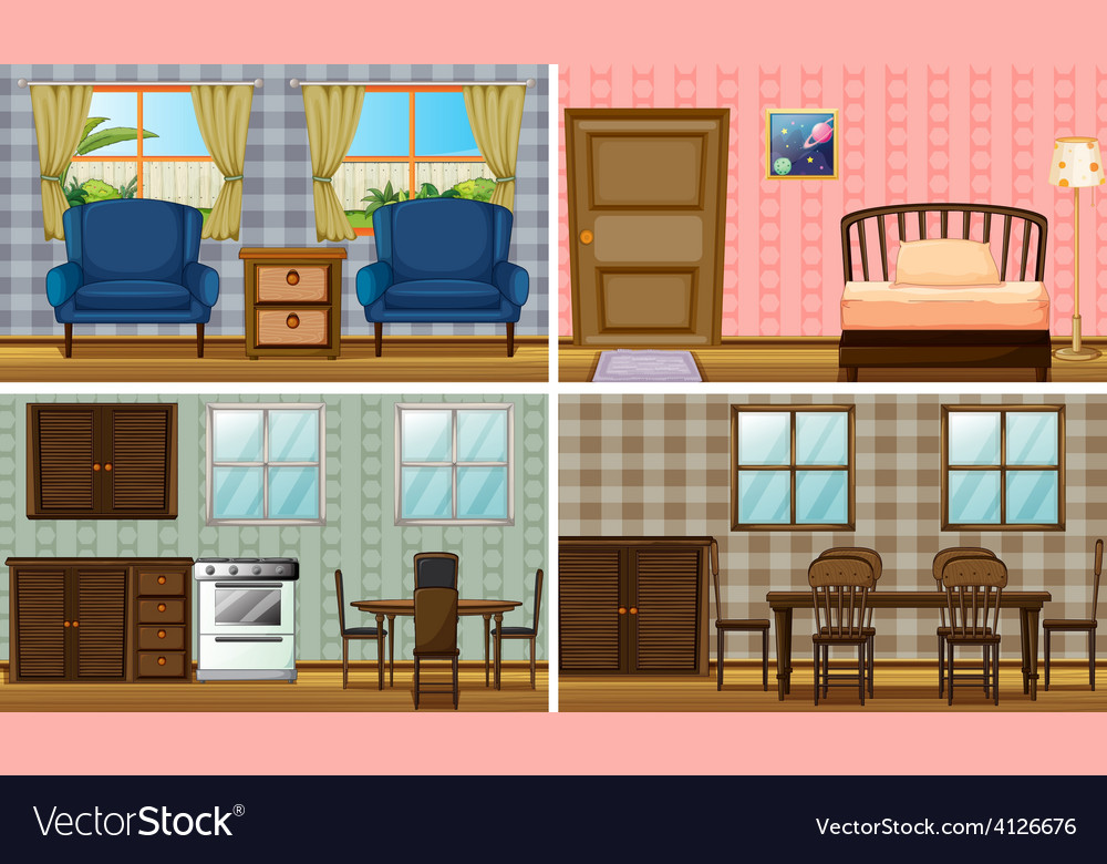 Rooms vector | Price: 3 Credit (USD $3)