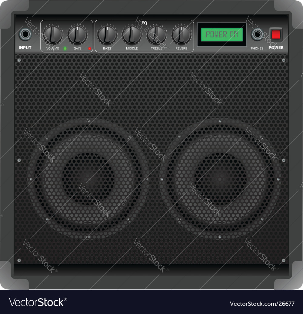 Amplifier vector | Price: 3 Credit (USD $3)