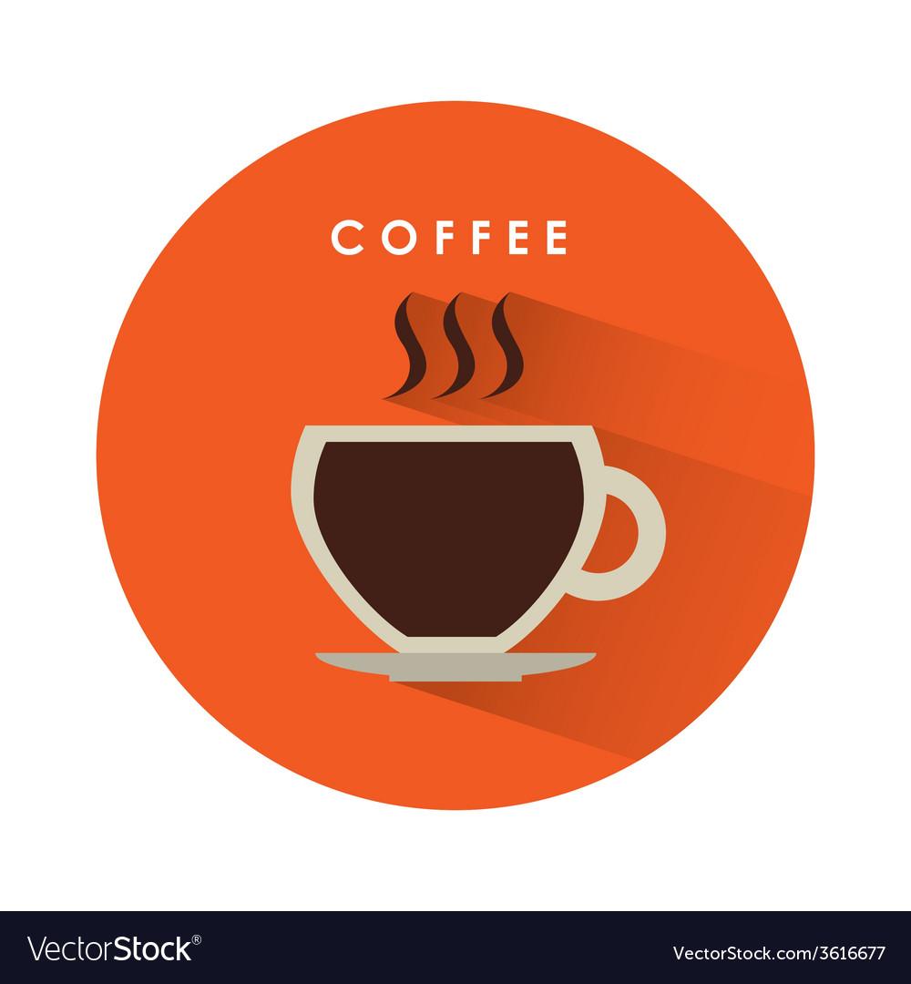 Coffee icon vector   Price: 1 Credit (USD $1)