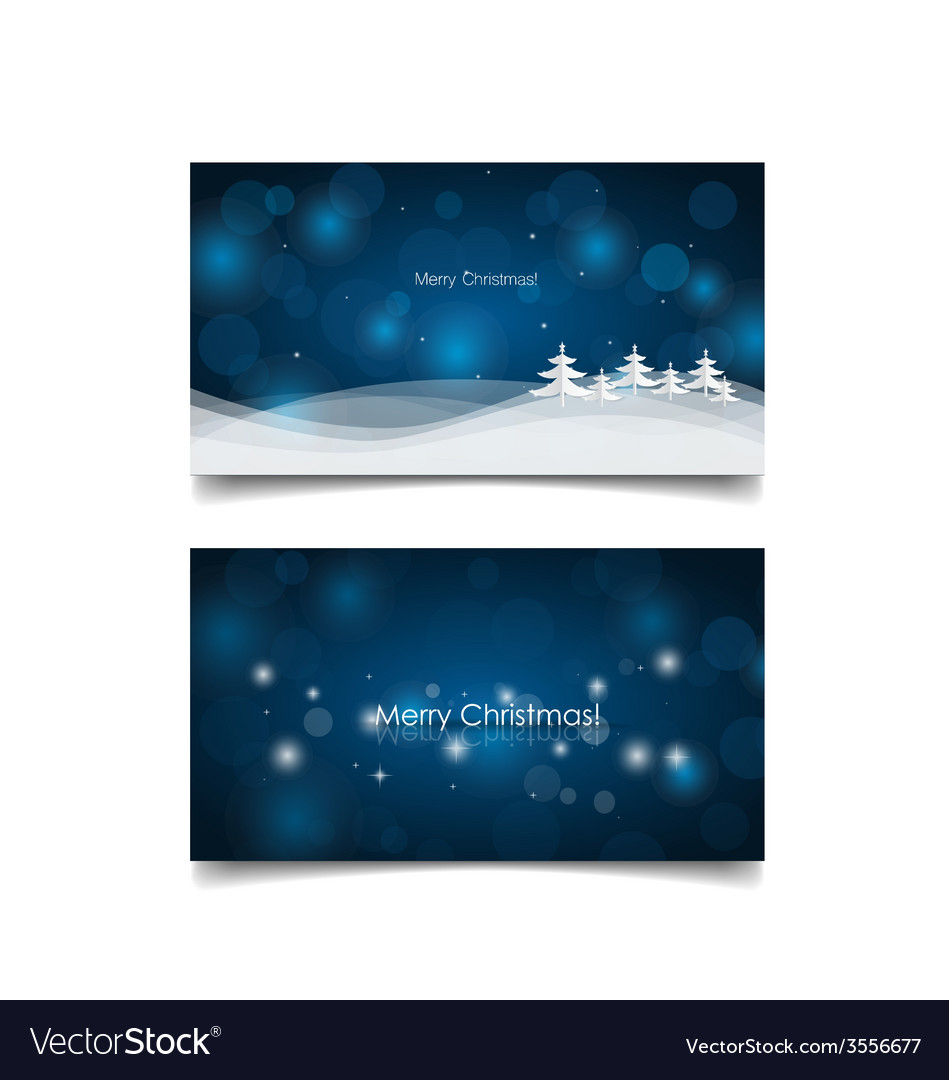 Holiday gift coupons with christmas tree vector | Price: 1 Credit (USD $1)