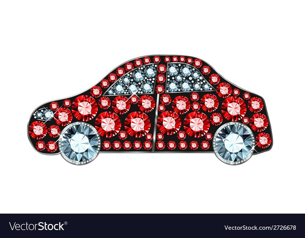 Gem car vector | Price: 1 Credit (USD $1)