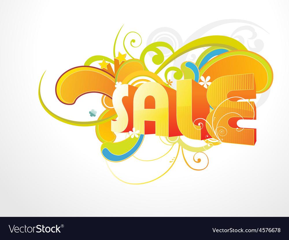 Sale backgroud vector