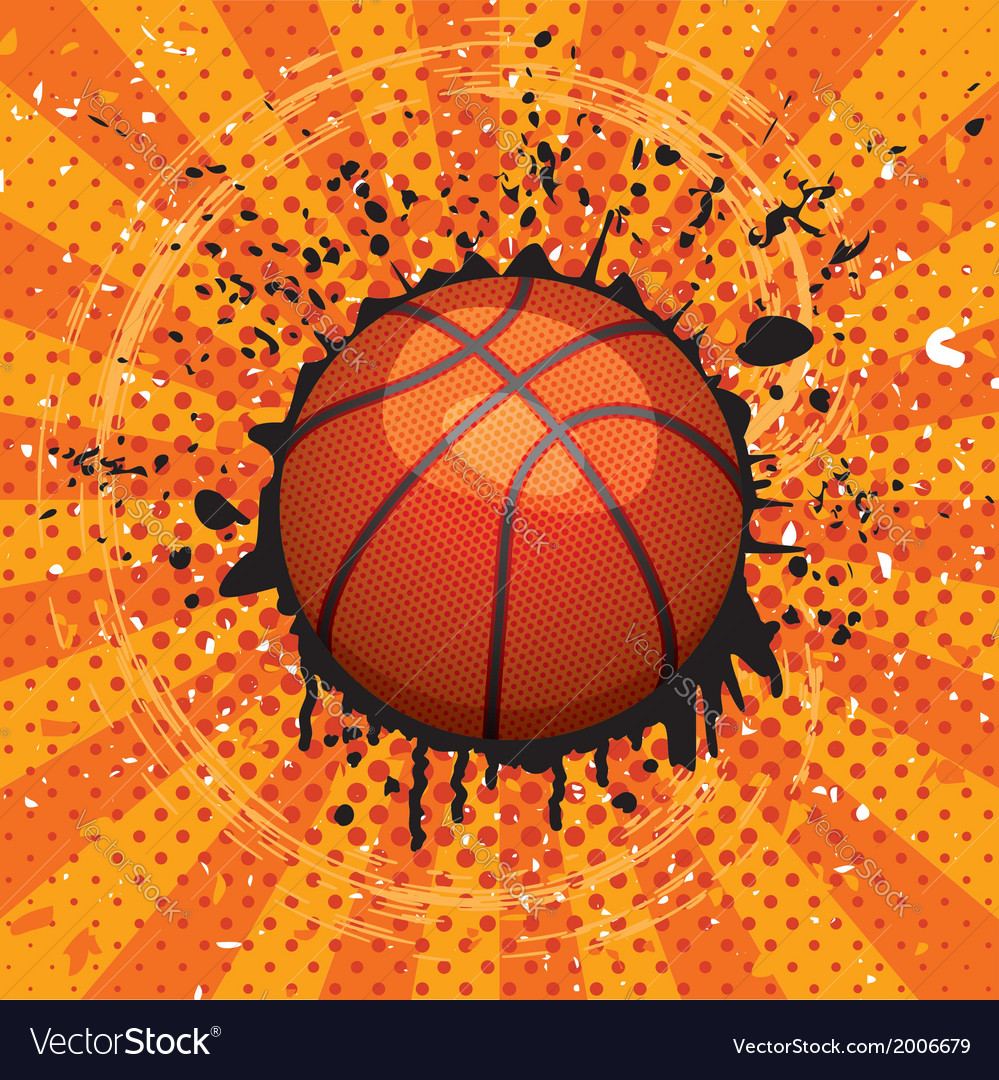 Basket ball vector | Price: 1 Credit (USD $1)