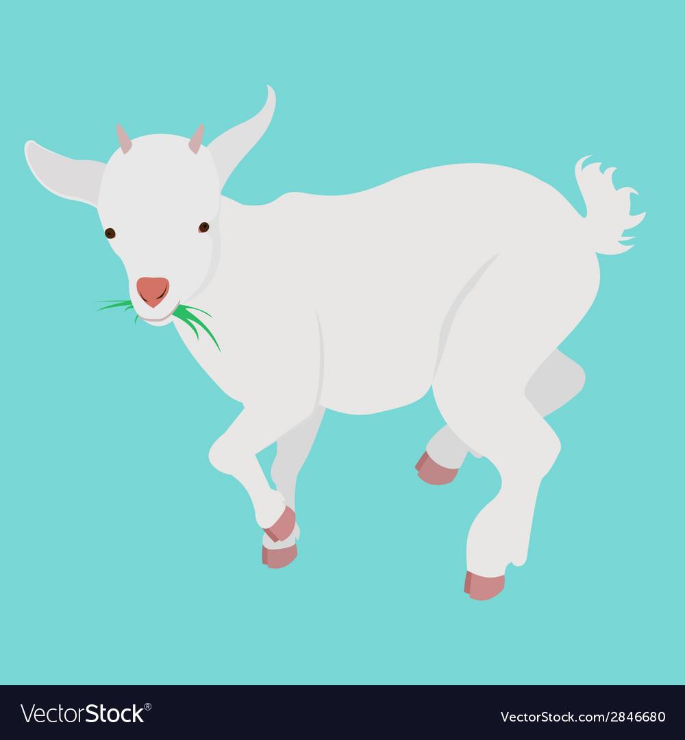 Cartoon goat vector | Price: 1 Credit (USD $1)