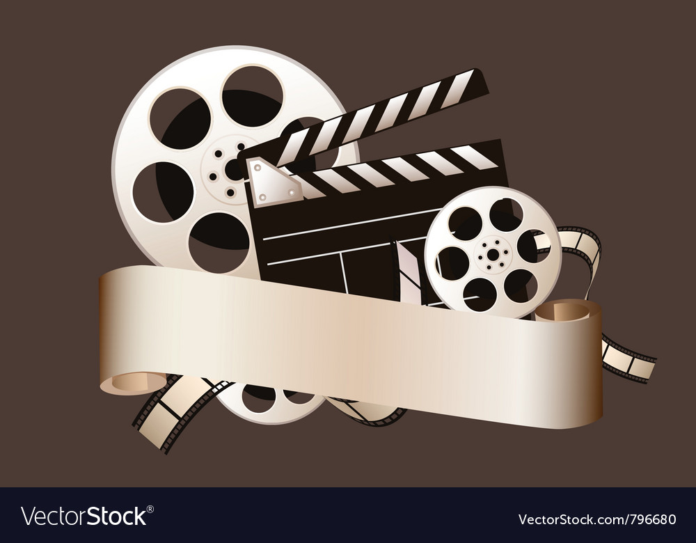 Film elements vector | Price: 1 Credit (USD $1)