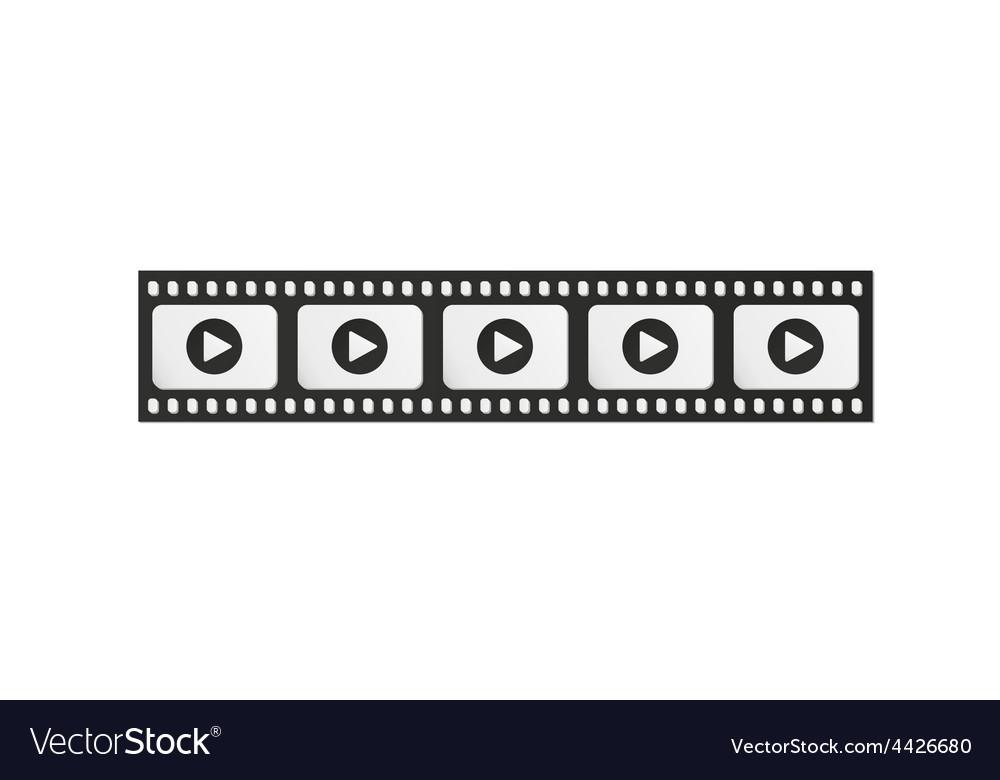 Filmstrip vector | Price: 1 Credit (USD $1)