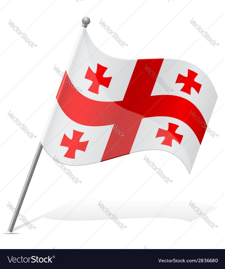 Flag of georgia vector   Price: 1 Credit (USD $1)