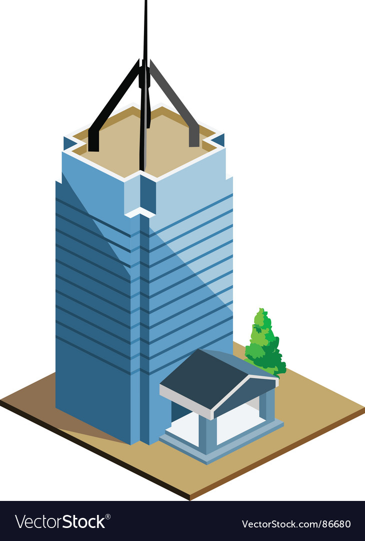 Tall building vector | Price: 1 Credit (USD $1)