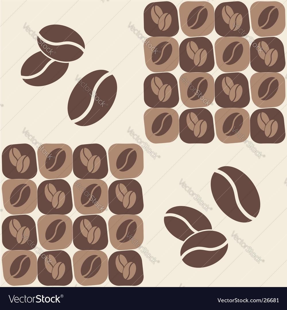 Coffee bean vector | Price: 1 Credit (USD $1)