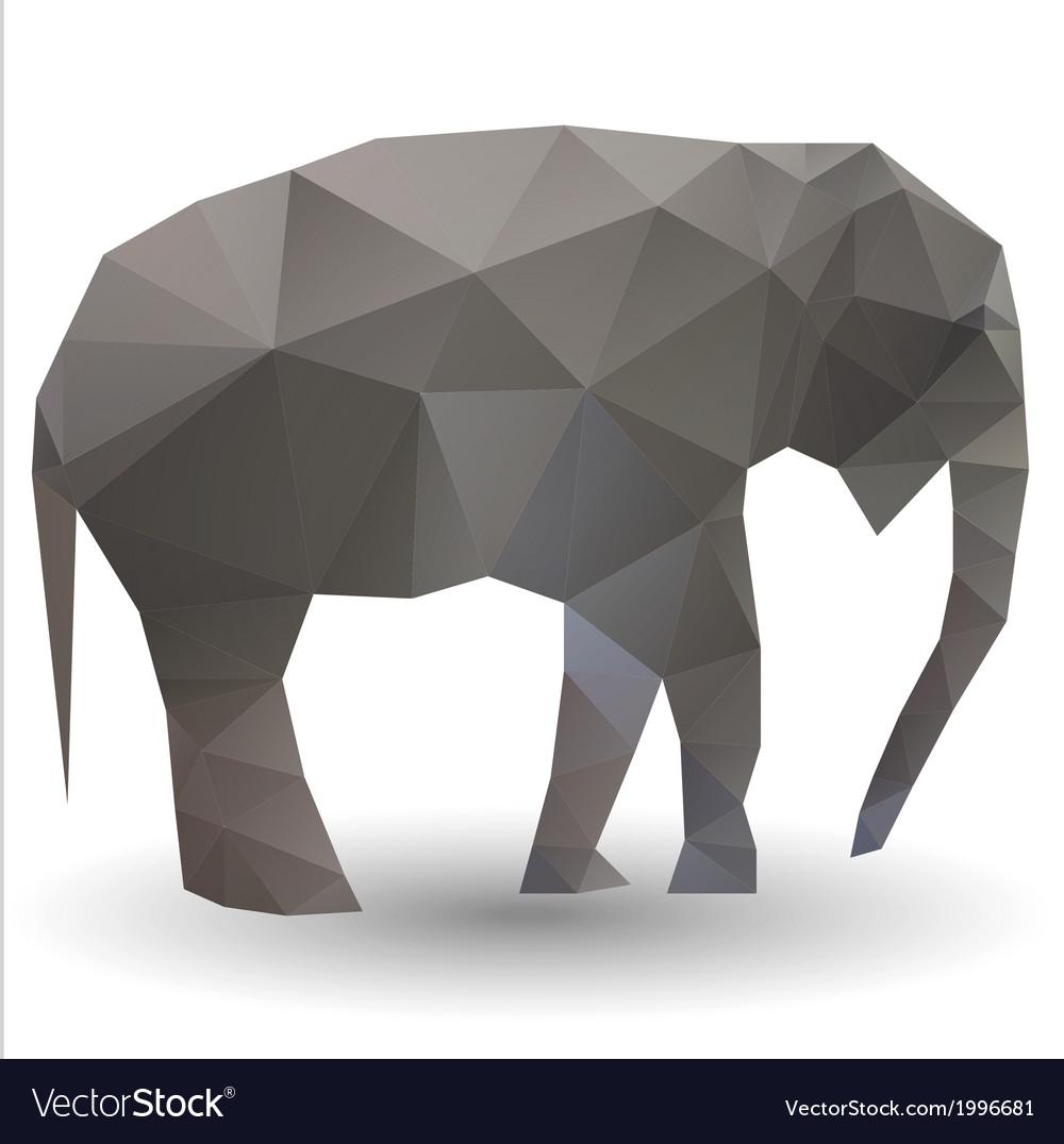 Elephant calf vector | Price: 1 Credit (USD $1)