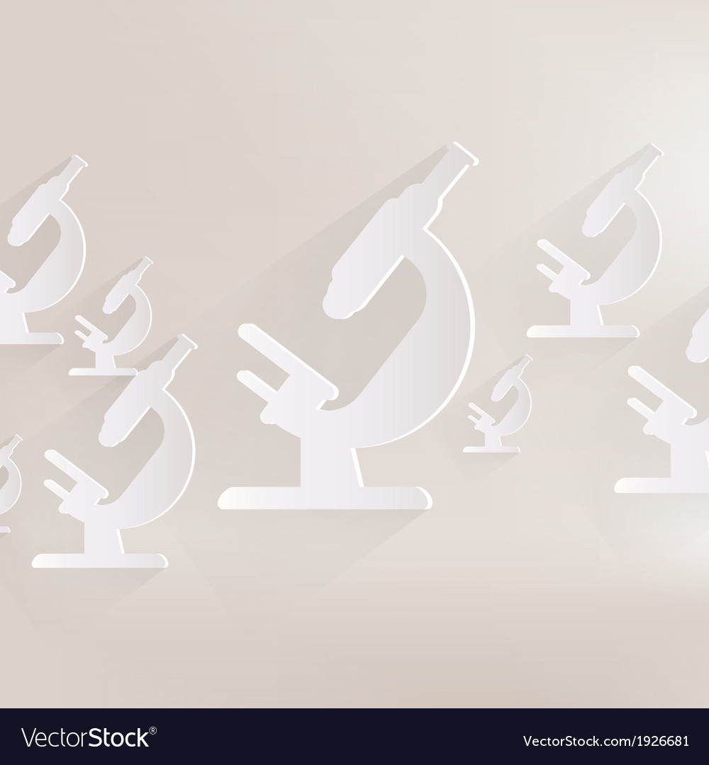 Microscope icon vector | Price: 1 Credit (USD $1)