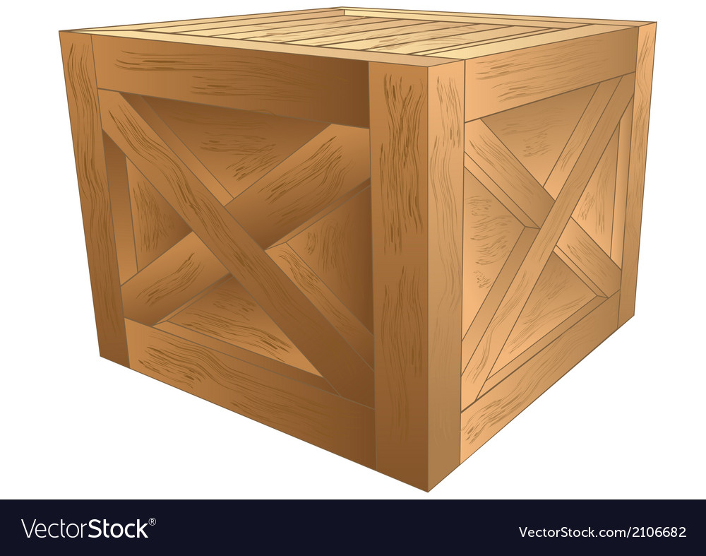 Crate vector | Price: 1 Credit (USD $1)